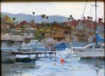 "Orange Bowl - 9"" x 12"" - Oil on Canvas - Philippe Gandiol"