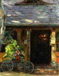 """Early Morning in Carmel, Casanova - 30"""" x 24"""" - Oil on Canvas - Edwin Herder"""