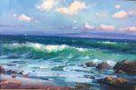 "Monterey Bay - 24"" x 36"" - Oil on Canvas - Ovanes Berberian"