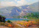 """Grecian Village - 12"""" x 16"""" - Oil on Canvas - Ovanes Berberian"""