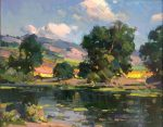"Summer Day - 16"" x 20"" - Oil on Canvas - Ovanes Berberian"