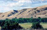 """Gabilan Range - 20"""" x 30"""" - Oil - Dewitt Whistler Jayne"""