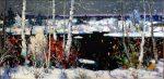 """Winter Panorama - 24"""" x 48"""" - Oil - Chan Tinyan"""