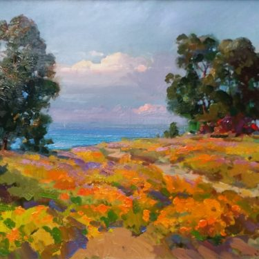 "By the Sea- 24"" x 30"" - Oil - Ovanes Berberian"