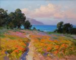 "Path to the Sea - 24"" x 30"" - Oil - Ovanes Berberian"