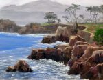 "Pacific Grove Morning - 11"" x 14"" - Oil on Canvas - Linda Bunch"