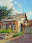 "Casanova, Carmel - 16"" x 12"" - Oil on Canvas - Tatyana Fogarty"
