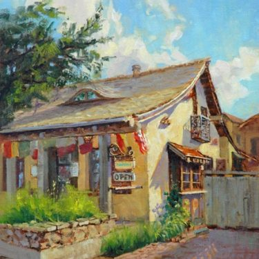 "Casanova, Carmel - 16"" x 12"" - Oil on Canvas - Tatyana Fogarty"