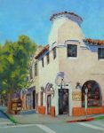 "Old Carmel Dairy - 14"" x 11"" - Oil on Canvas - Tatyana Fogarty"