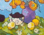 "Studies of Yellows & Greens - 11"" x 14"" - Angus Wilson"