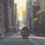 "California Street Line - 30"" x 30"" - Richard Boyer"