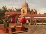 "Carmel Mission - 12"" x 16"" - Linda Petrie Bunch"