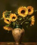 "Sunflowers - 24"" x 20"" - Regina Lyubovnaya"