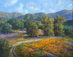 "Spring Wildflowers - 11"" x 14"" - Wayne Weberbauer"