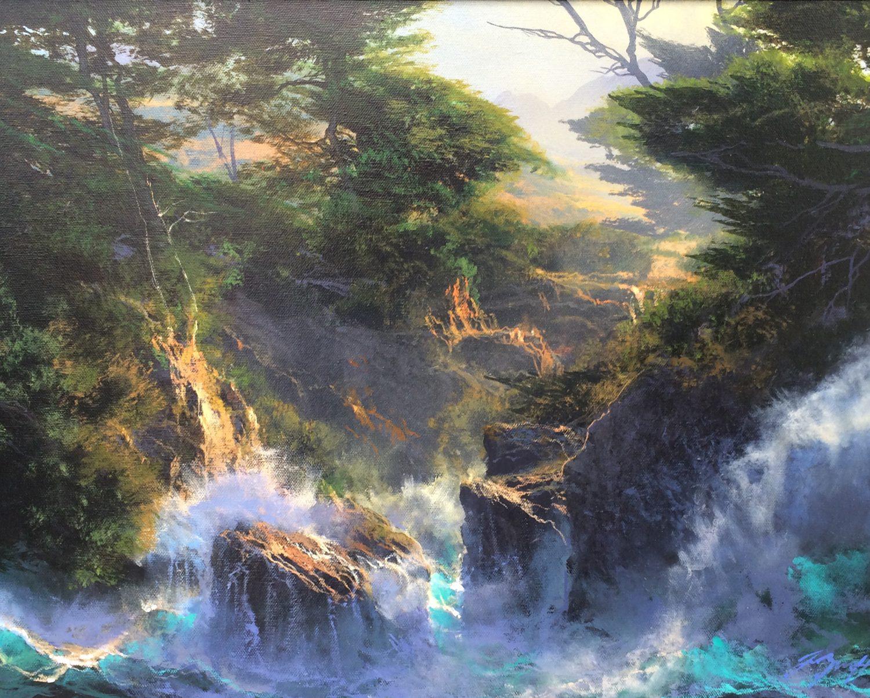 """A Weave of Sea Dreams - 12"""" x 16"""" - Dale Terbush"""