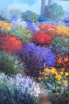 "Elegant Walking - 36"" x 24"" - Scott Wallis"