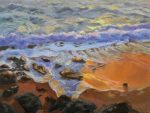 "Sunset Sands - 12"" x 9"" - Linda Petrie Bunch"
