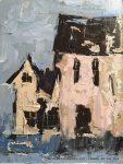 "Pink Houses | 8"" x 6"" | Sandra Pratt"