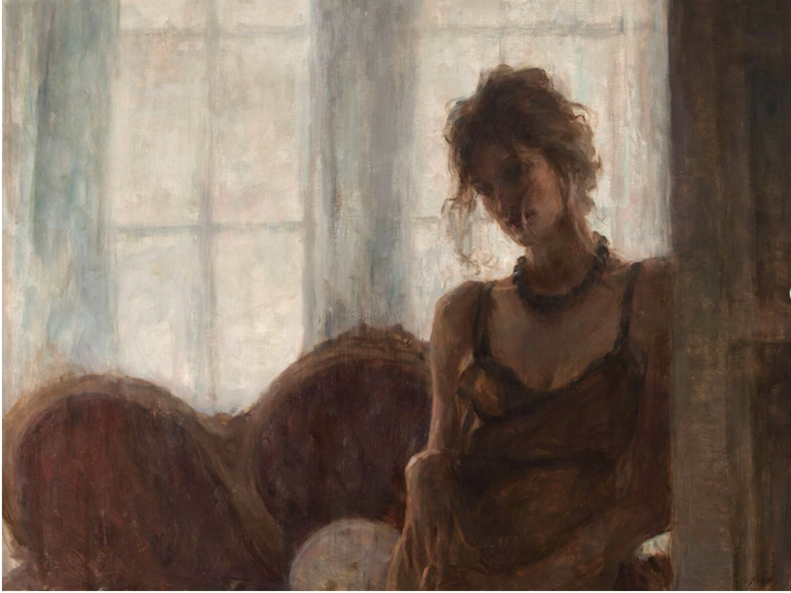 "The Waiting Room | 30"" x 40"" 