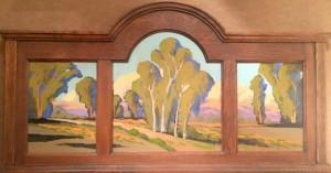 """A Road Thru the Eucalyptus - 30"""" x 30"""" - Jack Cassinetto"""