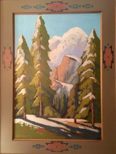 "Melting Snow Yosemite - 54"" x 41"" - Jack Cassinetto"