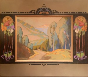 "Tamalpais Valley - 27"" x 27"" - Jack Cassinetto"