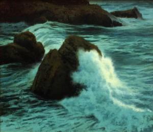 "Moonlit Surge - 13"" x 13"" - Kevin Courter"