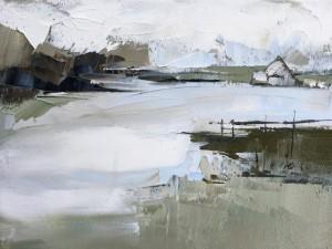 """Morning Bay - 8"""" x 10"""" - Sandra Pratt"""