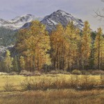 "Fall Afternoon, Kennedy Meadow - 15"" x 30"" - Oil on Canvas - Barbara Conley"