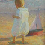 "Young Sailor - 22"" x 18"" - Oil on Canvas - W. Downey Dyer"