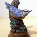 Eugene Morelli - Nuthatch - Bronze