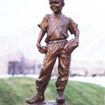 outdoor bronze statues