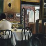 "Gentleman Reflects - 11"" x 14"" - Oil on Canvas - Thalia Stratton"