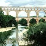 """Pont Du Garde - 24"""" x 36"""" - Oil - DeWitt Whistler Jayne"""