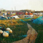 Kurt Ard | Fishing Village | 22 x 31 | Oil