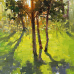 "Morning Glow - 12"" x 12"" - Oil - Jason Sacran"
