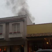 Fire in downtown Carmel art gallery building