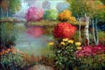 "A Favorite Spot - 24"" x 36"" - Oil on Canvas - Scott Wallis"
