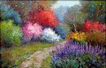 """Glorious Pathway - 24"""" x 36"""" - Oil on Canvas - Scott Wallis"""