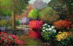 "Serenity - 24"" x 36"" - Oil on Canvas - Scott Wallis"