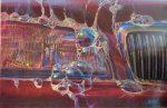 "Bubbles - 24"" x 36"" - Oil on Canvas - Bill Motta"