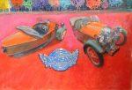 """Morgan's - 24 x 36"""" - Oil on Canvas - Bill Motta"""