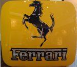 """Ferrari Horse - 28"""" x 31"""" - Robert Strand"""