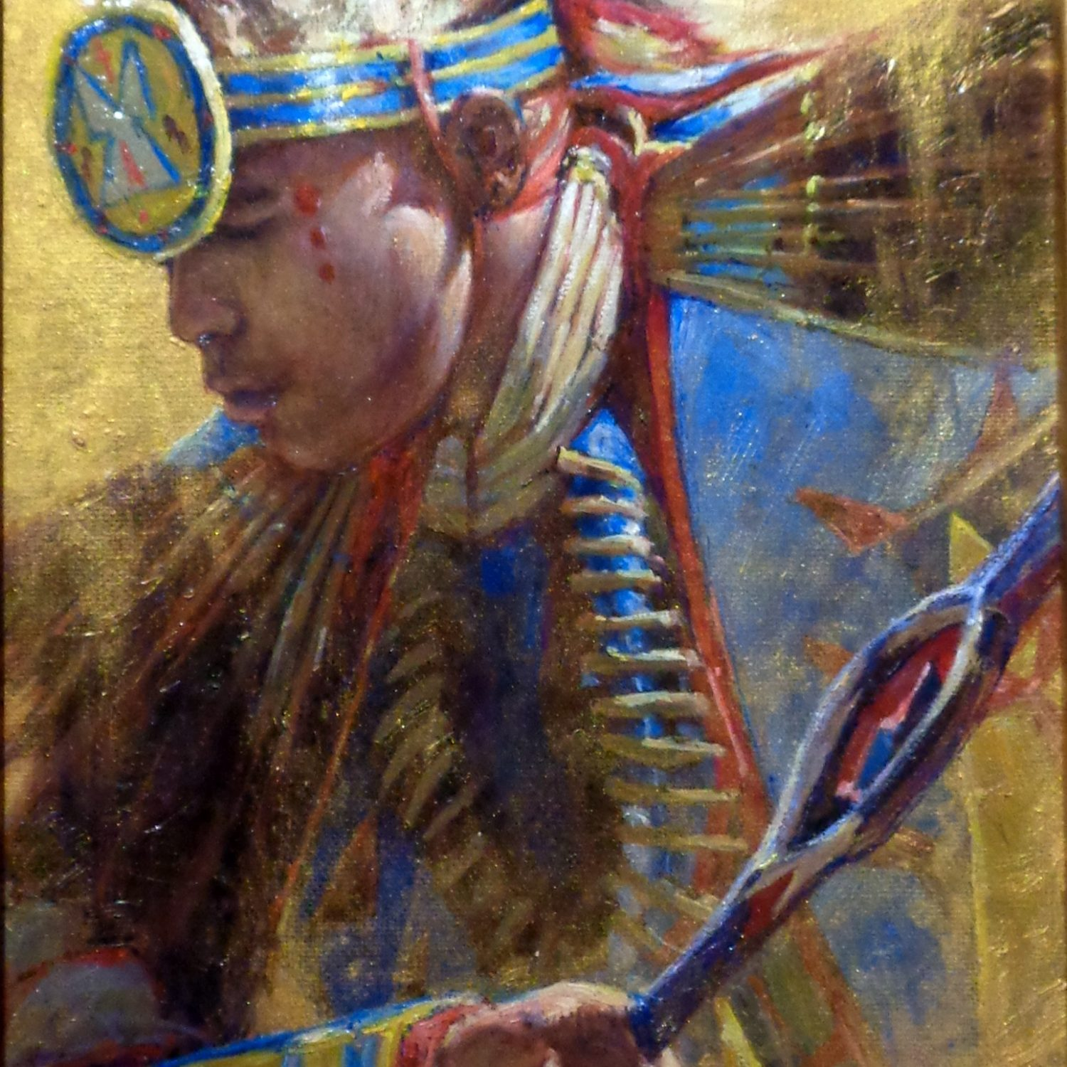 The Warrior- 8x10 - Oil on Canvas - Graeme Hagan