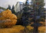 "Autumn in Yosemite - 22"" x 30"" - Watercolor - Gerald Brommer"