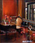 "The Pine Inn - 16"" x 12"" - Oil on Canvas - Thalia Stratton"