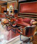 """Pine III - 16"""" x 12"""" - Oil on Canvas - Thalia Stratton"""