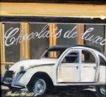"Chocolats de Luxe - 8"" x 8"" - Oil on Canvas - Thalia Stratton"