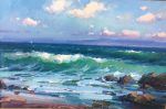 "Monterey Bay - 24"" x 36"" - Oil on Canvas - Ovanes Berberian"