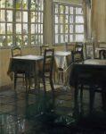 "LeBauche Antibes, France - 16"" x 12"" - Oil on Canvas - Thalia Stratton"